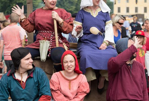 The Medieval Market on June 29th to July 2nd 2017